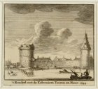 't Rondeel met de Kolveniers Tooren en Muur .1544