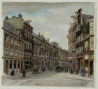 Amstelstraat, rechts Amstel, hoekhuis rechts nummer 200