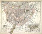 Platte grond van Amsterdam. Met het Project Plan van Uitbreiding der Stad, in aa…
