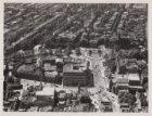 Luchtfoto van het Leidseplein en omgeving gezien in westelijke richting