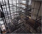 Interieur van het Muziekgebouw aan 't IJ in aanbouw, Piet Heinkade 1