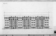Bouw van een woonblok gelegen aan de Scheldestraat, Zuideramstellaan (Rooseveltl…