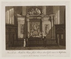 Mausole de Michel de Ruiter fils d'Adrien dans l'glise neuve  Amsterdam