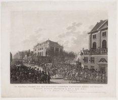 De Plegtige Inkomst van Zijn Majesteit Lodewijk Napoleon Koning van Holland, in …