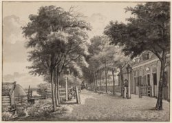 Het tolhek aan de Amstelveenseweg