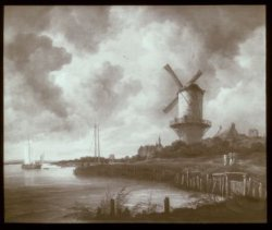 Jacob van Ruijsdael - De molen bij Wijk bij Duurstede