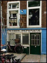 Beeldbank stadsarchief amsterdam blasiusstraat 60 met exterieur fietsenreparatiebedrijf - Decoratie exterieur gevel ...