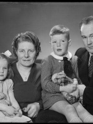 Fredericus George Bergh, Maria Wilhelmin...