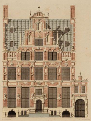 Beeldbank stadsarchief amsterdam het huis met de hoofden keizersgracht 123 techniek - Lay outs rond het huis ...
