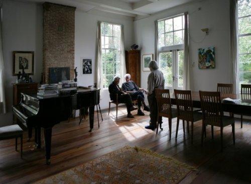Beeldbank stadsarchief amsterdam spaarndammerdijk 677 het huis van kunstschilder ger lataster - Lay outs rond het huis ...