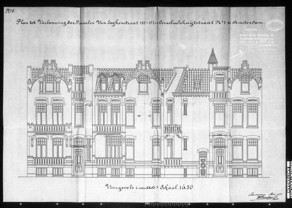 Eeghenstraat, Van 135-137/Schuytstraat, Cornelis 1