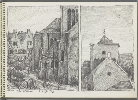 Details van de rooms-katholieke Hofkerk (HH. Martelaren van Gorcum), Linnaeushof 93