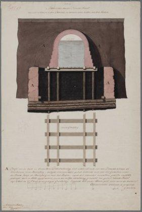 Beurs van Hendrick de Keyser, opmeting door Abraham van der Hart