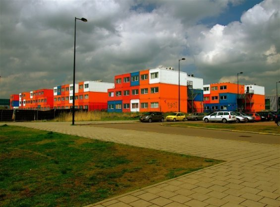 CONTAINER HOUSES FOR STUDENTS