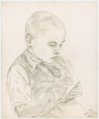 Kinderportret van 'Wim'