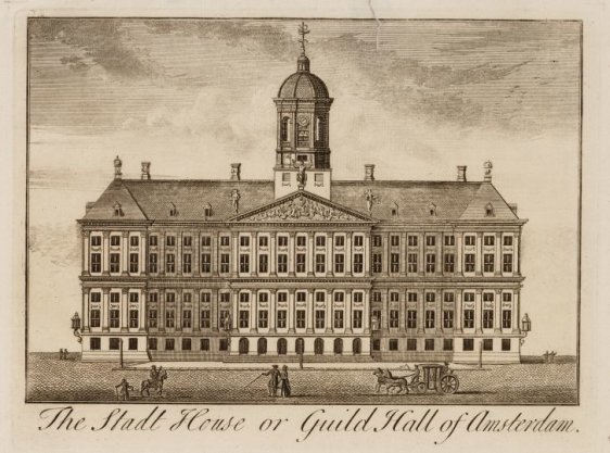 The Stadt House or Guild Hall of Amsterdam