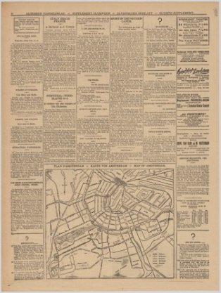 Plan d'Amsterdam - Karte von Amsterdam - Map of Amsterdam