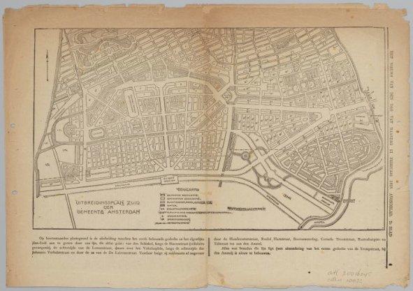 Uitbreidingsplan Zuid der Gemeente Amsterdam
