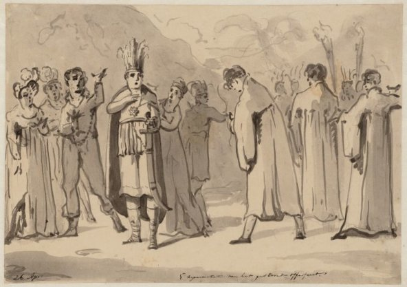 26 april 1e representatie van het gestoorde Offerfeest