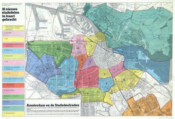 16 nieuwe stadsdelen in kaart gebracht