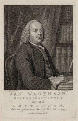 Jan Wagenaar (28-10-1709 / 01-03-1773)