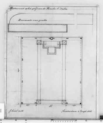 Uitbreiding grafmonument G.B. Salm op de Nieuwe Oosterbegraafplaats, Kruislaan 126