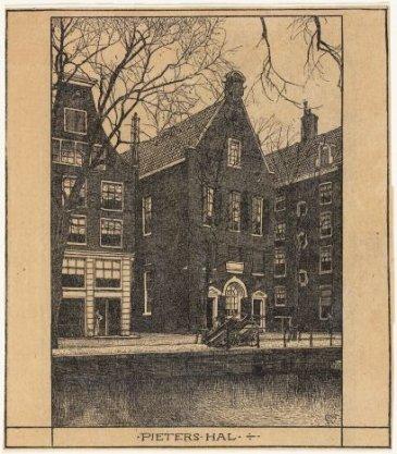 Voorburgwal, Oudezijds 272 (ged.)-276 (ged.)(v.r.n.l.)