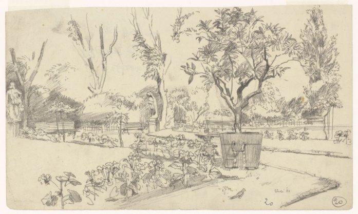 De Franse tuin in Artis, Plantage Kerklaan 40