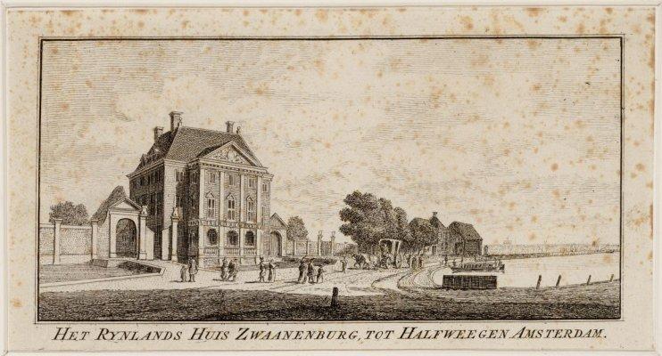Het Rynlands Huis Zwaanenburg tot Halfweegen Amsterdam