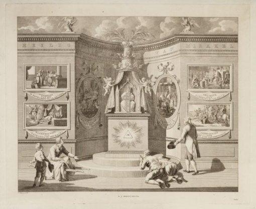 Allegorische Voorstelling op de geschiedenis van het H. Sacrament van Mirakel