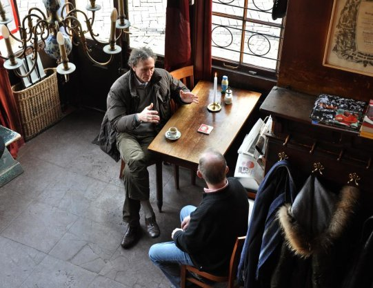 Prinsengracht 2, interieur café Papeneiland