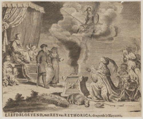 Liefdbloeyend, met Rey van Rethorica