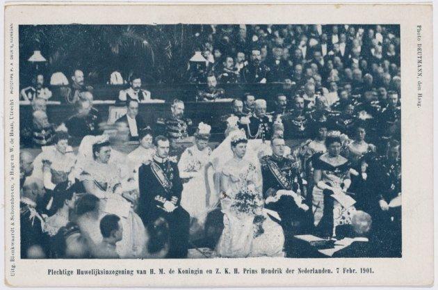 Huwelijksinzegening van H.M. de Koningin en Z.K.H. Prins Hendrik