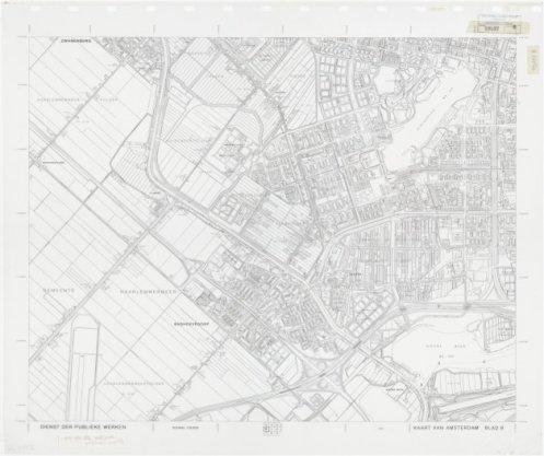 Kaart van Amsterdam 1:10.000, Blad 8