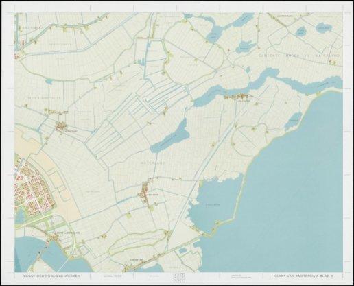 Kaart van Amsterdam 1:10.000, Blad 3