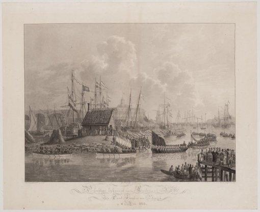 Plechtige lijkvaart van den Luitenant ter Zee, 2e kls., Jan Carel Josephus van Speijk, op 4 Mei 1832