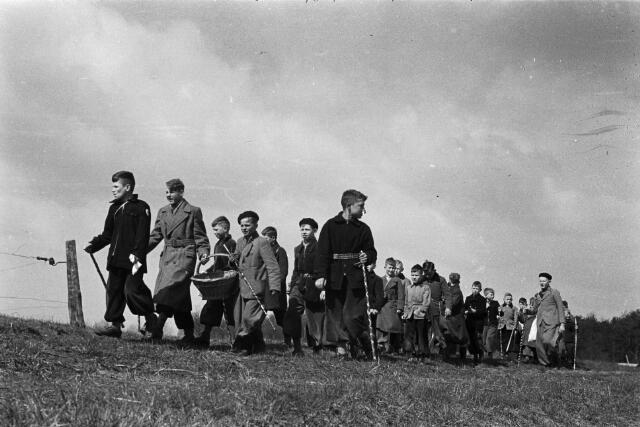 Het dorpsleven in Cromvoirt