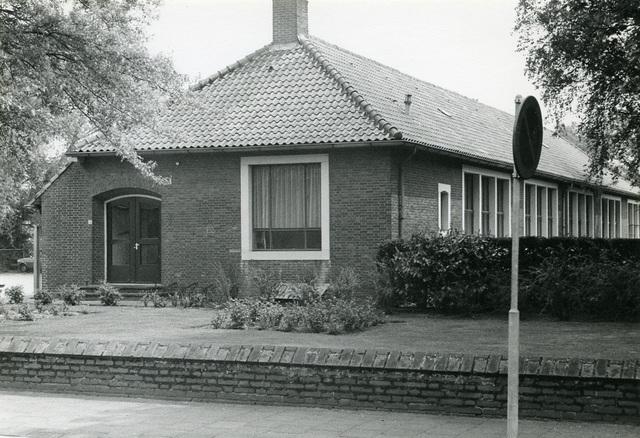 Schoolgebouw.