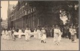 De Heilig-Bloedprocessie in 1919.