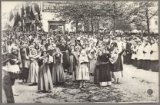 De Heilig-Bloedprocessie anno 1910.