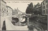 De Augustijnenbrug en de Augustijnenrei richting Gouden-Handrei.