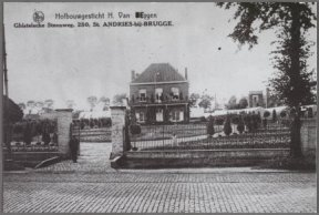De horticultuur van H. Van Eygen te Sint-Andries.