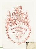 Visualizza Etikett von M. Eichenberger anteprime su