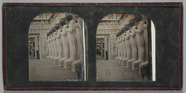 Visualizza Stereo view of the Egyptian Court of the Grea… anteprime su