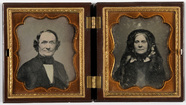Thumbnail preview of Portrait of a lady and a gentleman