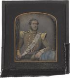 Visualizza A half length portrait of a seated man in Bri… anteprime su