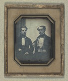 Thumbnail preview of Double portrait of Johan Ludvig og John Siver…
