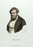 Visualizza Brustbild eines Mannes mit Vollbart und locki… anteprime su
