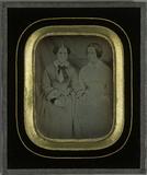 Visualizza Portrait de deux jeunes filles, Hilda Eynard … anteprime su