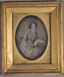 Visualizza Three quarter length portrait of a woman, wit… anteprime su
